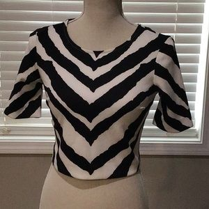 New express crop top size XS.